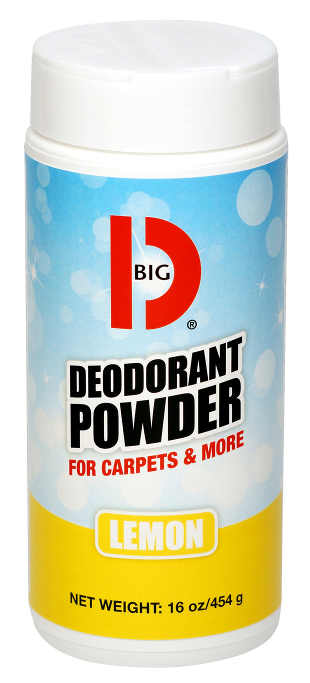 BIG D® DEODORANT POWDER, 12/cs