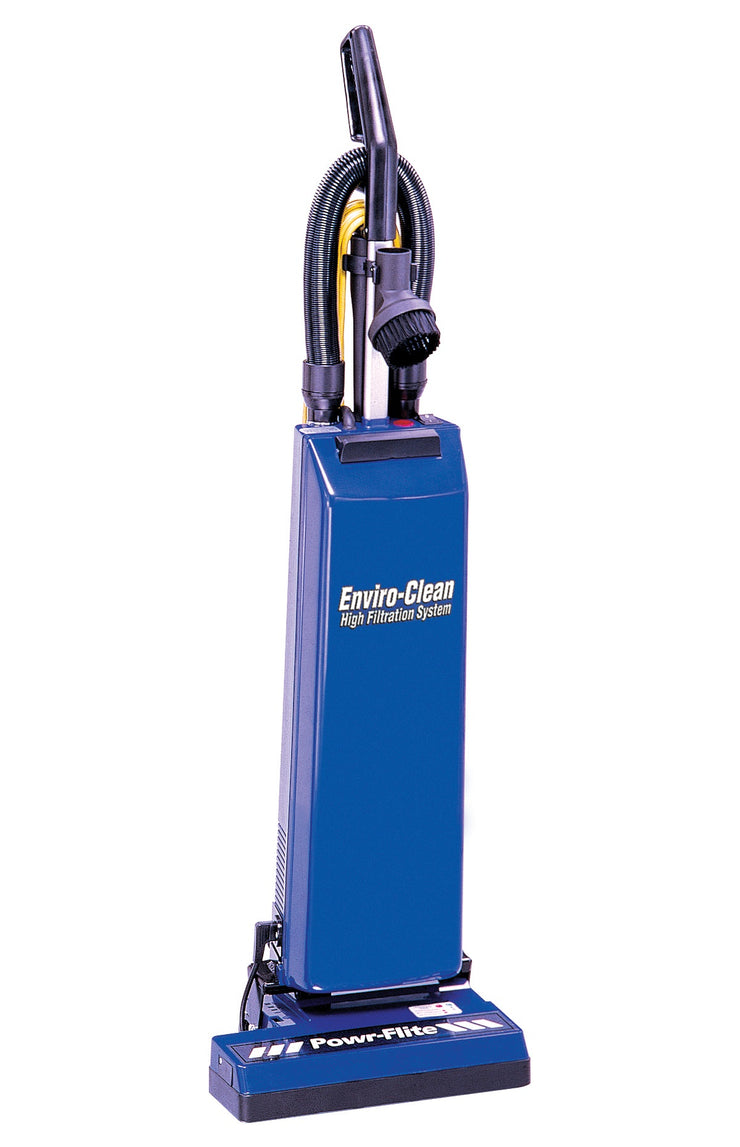 "14"" Dual Motor Upright Vacuum with Tools"