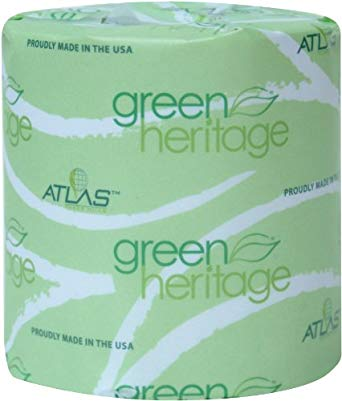 Green Heritage® White 2-Ply Bathroom Tissue 96/case