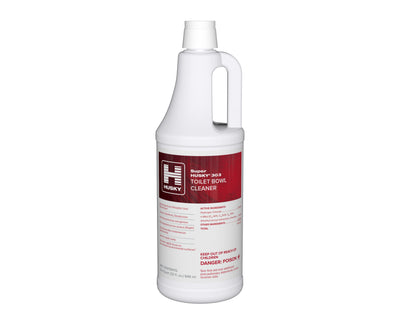 Husky 303: Toilet Bowl Cleaner (23% HCI), 32oz 12/cs