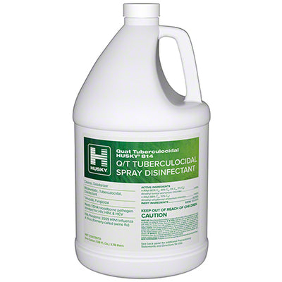 Husky 814 Q/T Tuberculocidal Spray Disinfectant Cleaner 4/1Gal