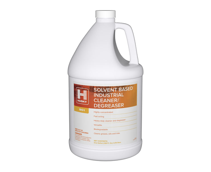 Husky 901: Solvent Based Industrial Cleaner / Degreaser, 1 gal 4/cs