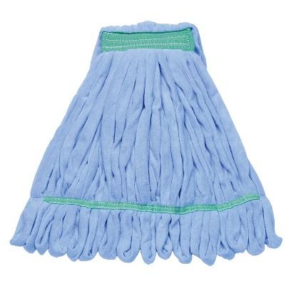 Large Microfiber Wet Mop, Blue