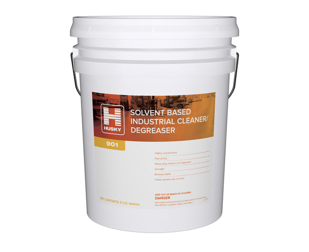 Husky 901: Solvent Based Industrial Cleaner / Degreaser 5 gal