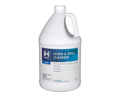 Husky 470: Oven & Grill Cleaner, 1 gal 4/cs