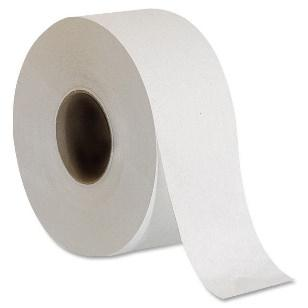Jumbo 2-Ply Roll Toilet Tissue 1000' - 12/cs