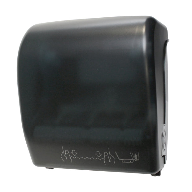 Mechanical Hands-Free Roll Towel Dispenser