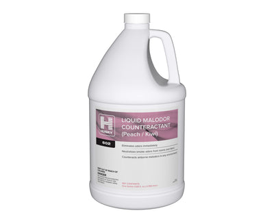 Husky 602: Liquid Malodor Counteractant (Peach / Kiwi), 1gal 4/cs