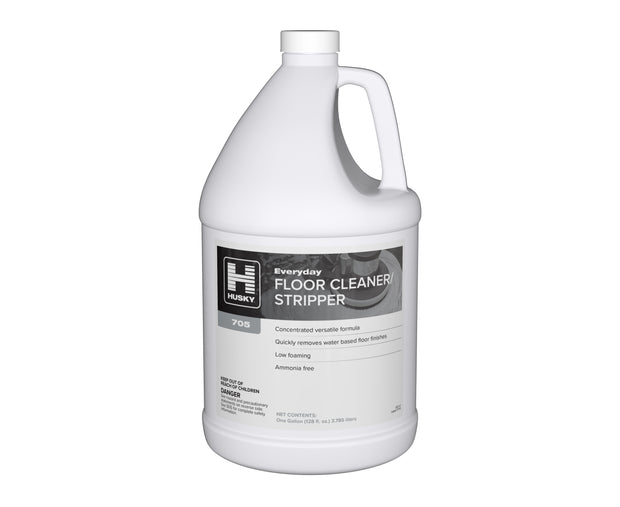 Husky 705: Everyday Floor Cleaner / Stripper 1 gal 4/cs