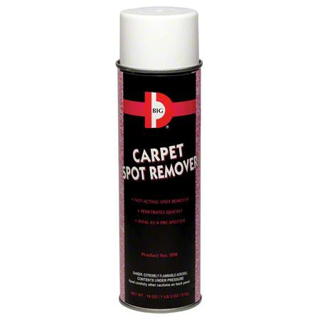 BIG D® CARPET SPOT REMOVER, 18oz 12/cs