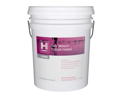 Husky 1026: Dry Bright Floor Finish 5 gal