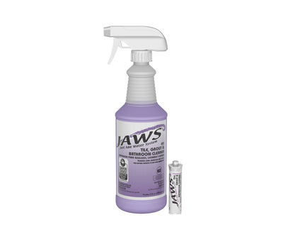 JAWS 3410: Tile, Grout & Bathroom Cleaner Cartridges, 24/cs