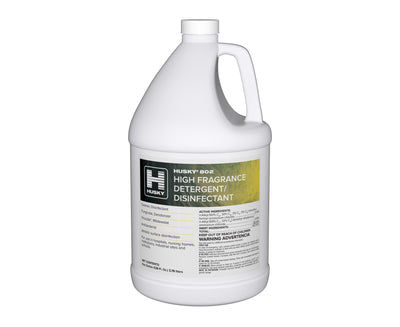 Husky 802: High Fragrance Detergent Disinfectant (Lemon) 1gal 4/cs