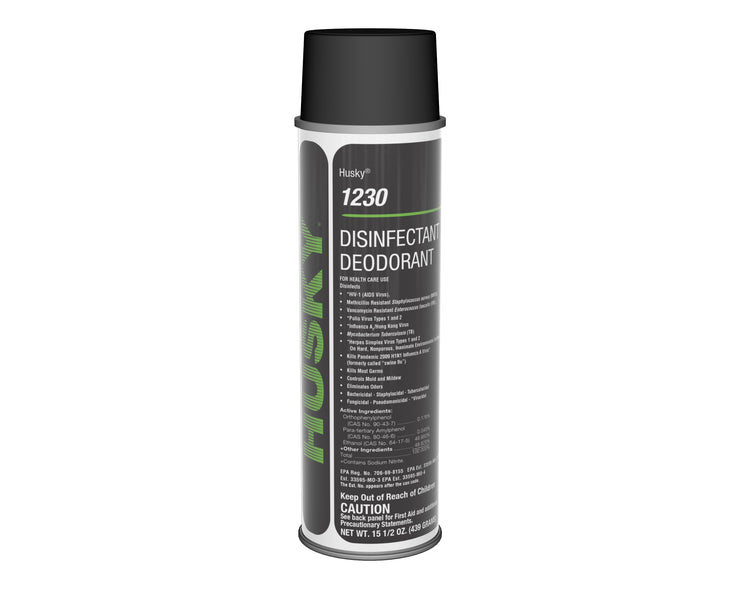 Husky 1230: Disinfectant Deodorant, 15oz 12/cs