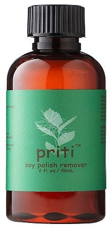Priti Soy Polish Remover 2 and 4oz