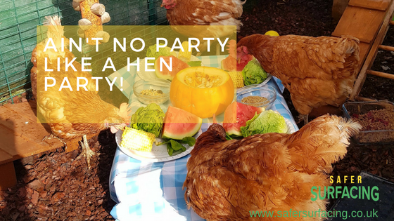 Ain't no party like a hen party!
