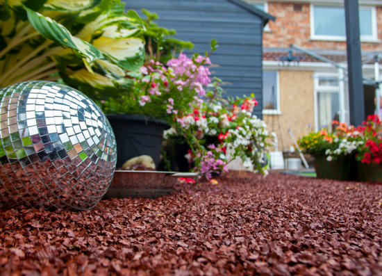 Classic Recycled Rubber Chippings, a Fantastic Garden Landscaping Material