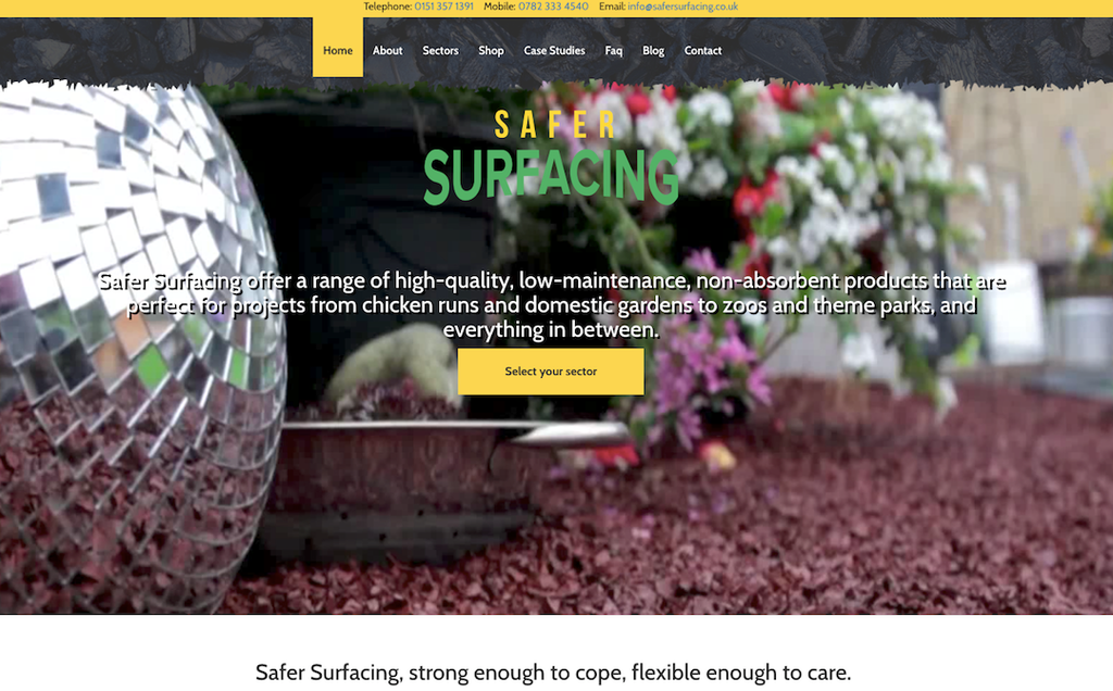 The brand new Safer Surfacing website launches