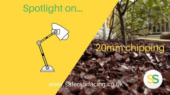 Spotlight on… 20mm rubber chippings