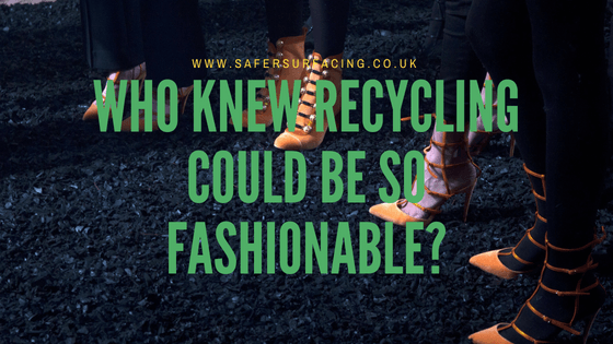 Who knew recycling could be so fashionable?