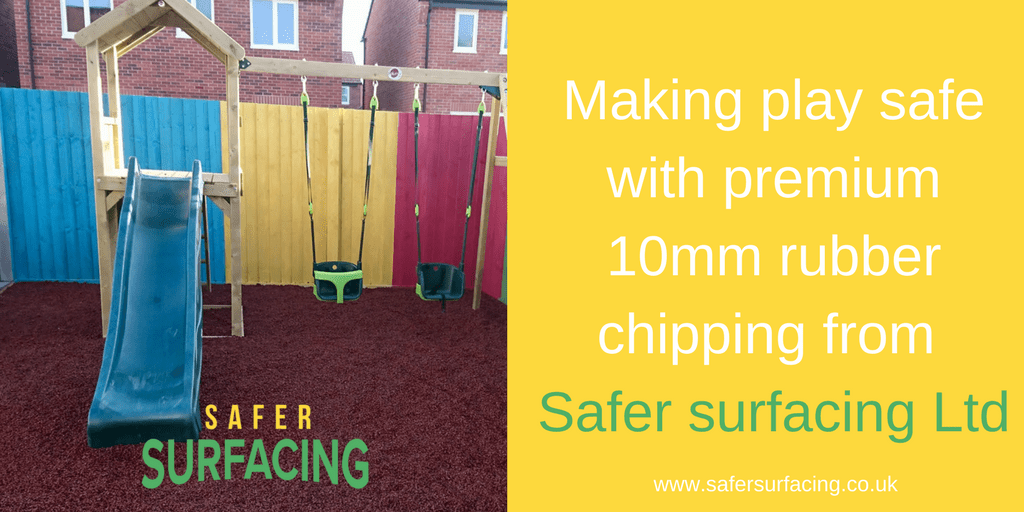 Making your garden play area safe and colourful!