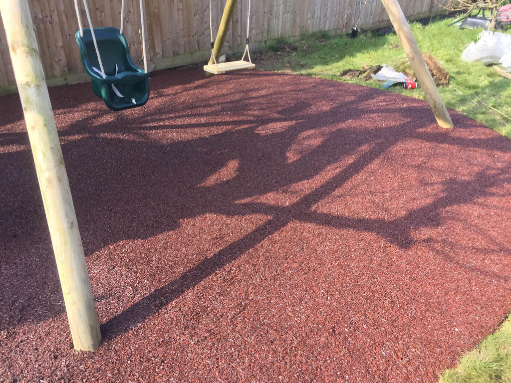 Rubber Mulch Terracotta - Safer Surfacing