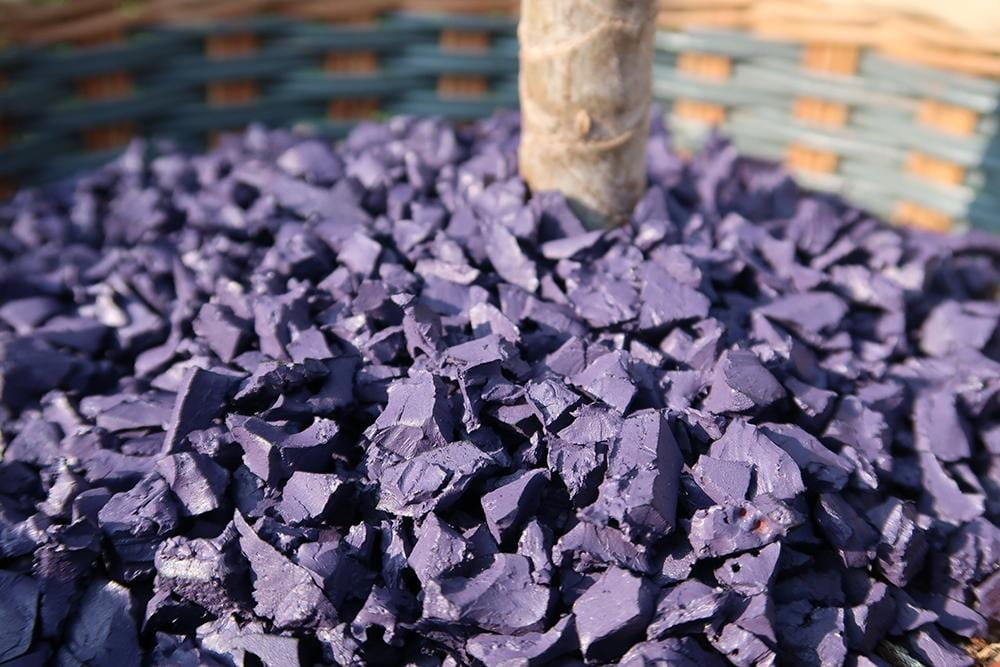 Landscape Classic Rubber Chippings Lavender - Safer Surfacing