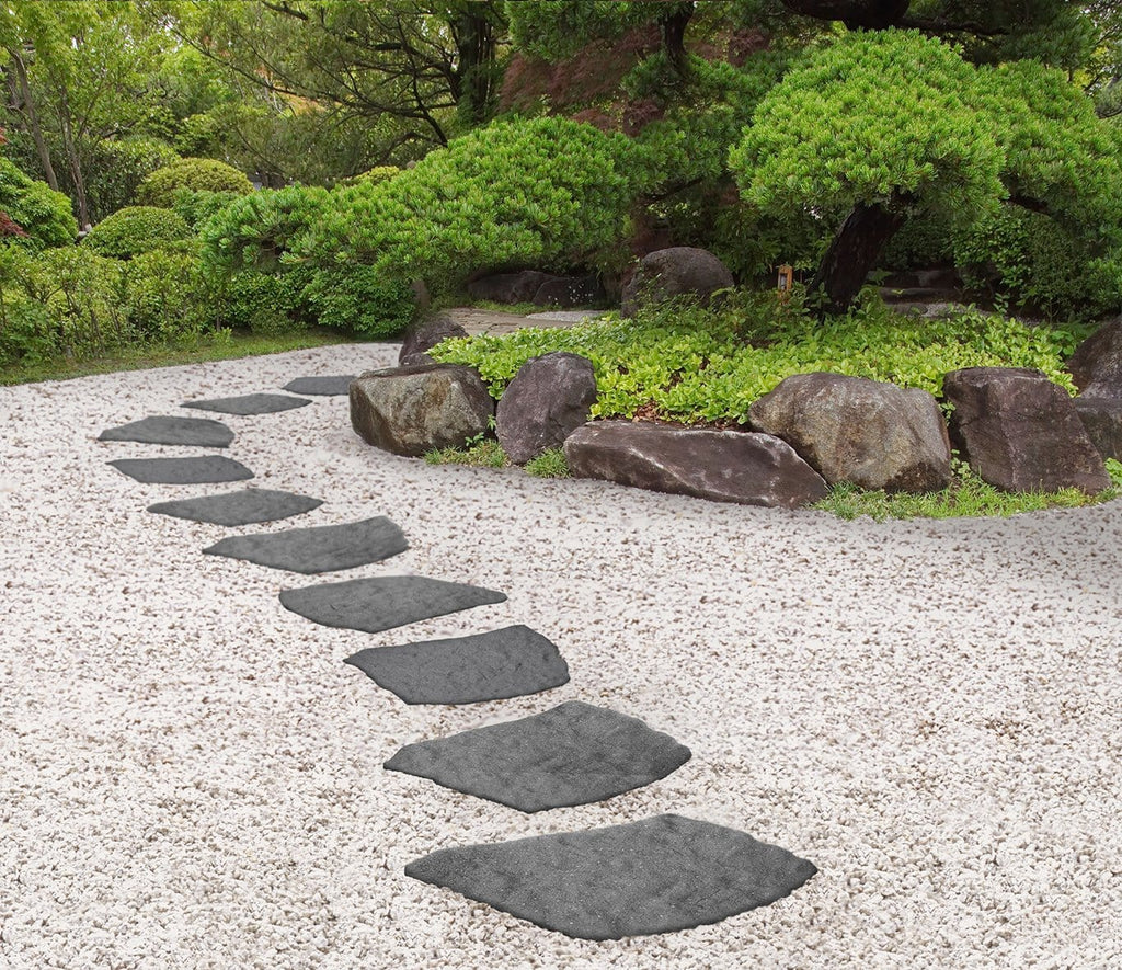 Grey stepping stone natural (pack of 4 SAVE £9) - Safer Surfacing