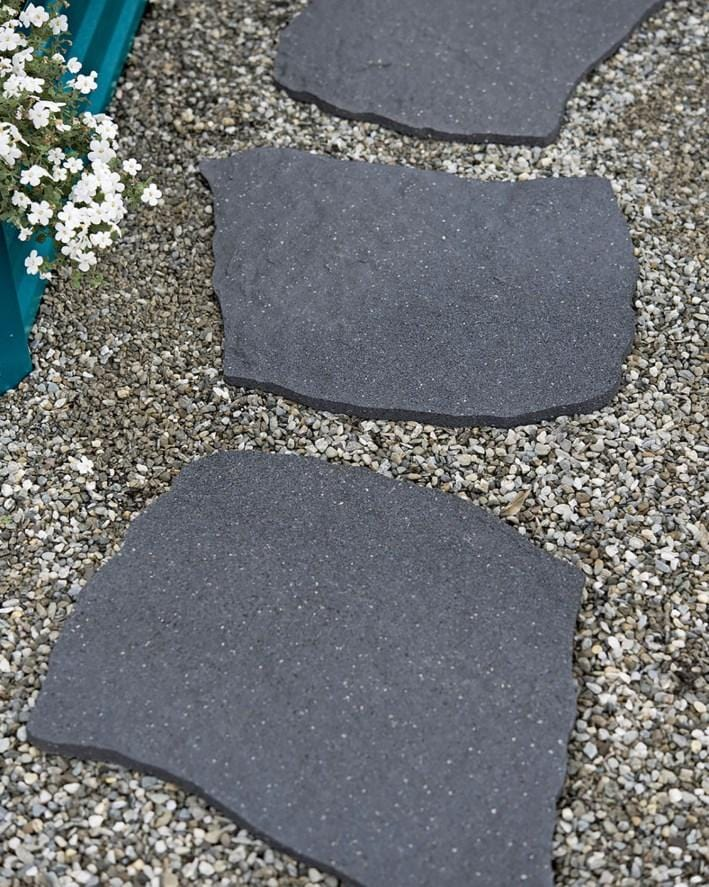 Grey stepping stone natural (pack of 2 SAVE £3) - Safer Surfacing