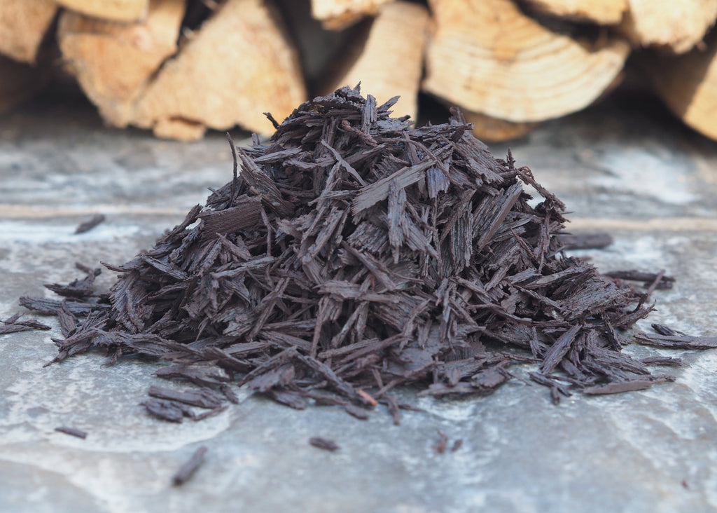 Rubber Mulch Brown - Safer Surfacing