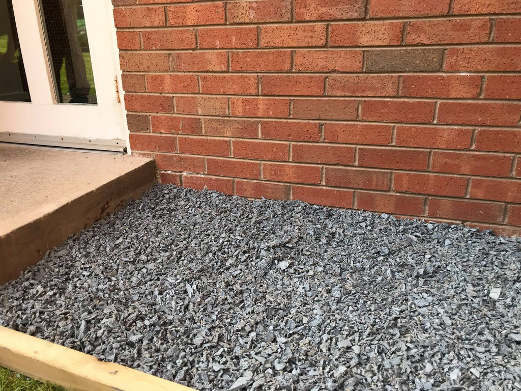 Play Rubber Chippings Grey - Safer Surfacing