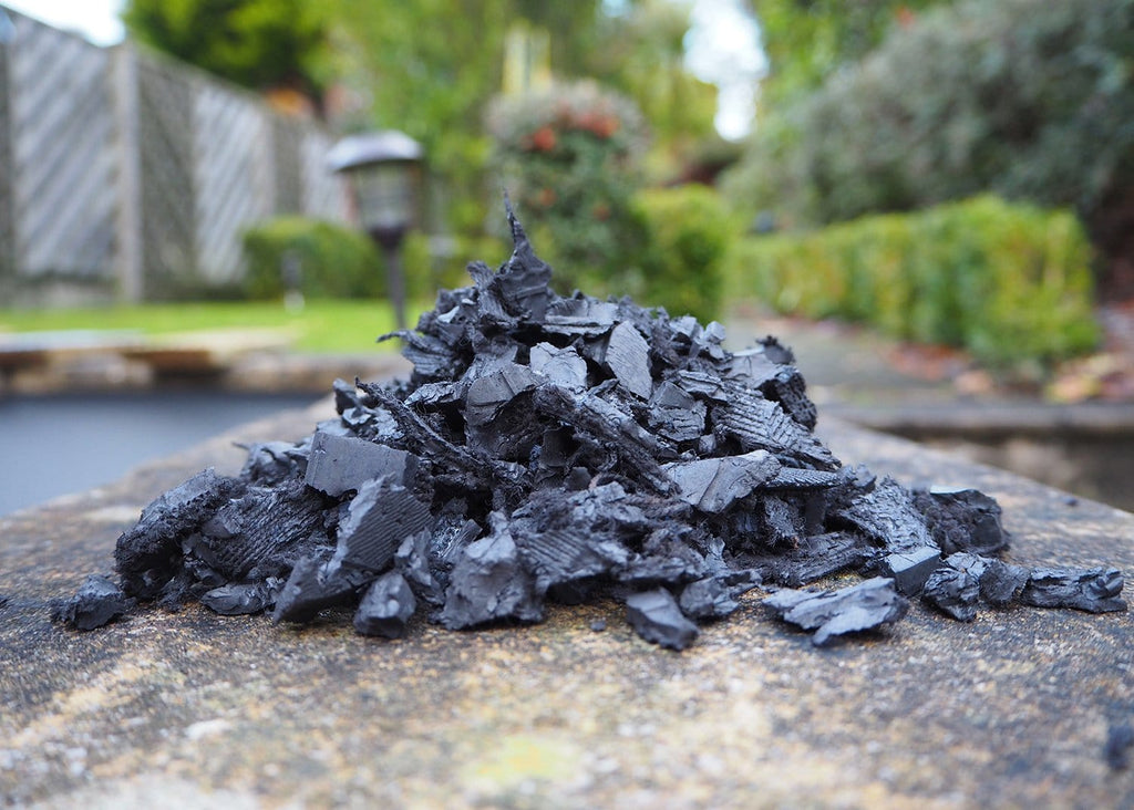 Landscape Economy Rubber Chippings Grey - Safer Surfacing