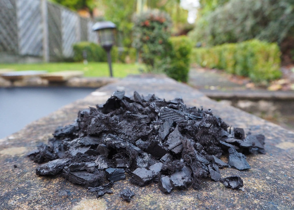 Landscape Rubber Chippings Black - Safer Surfacing