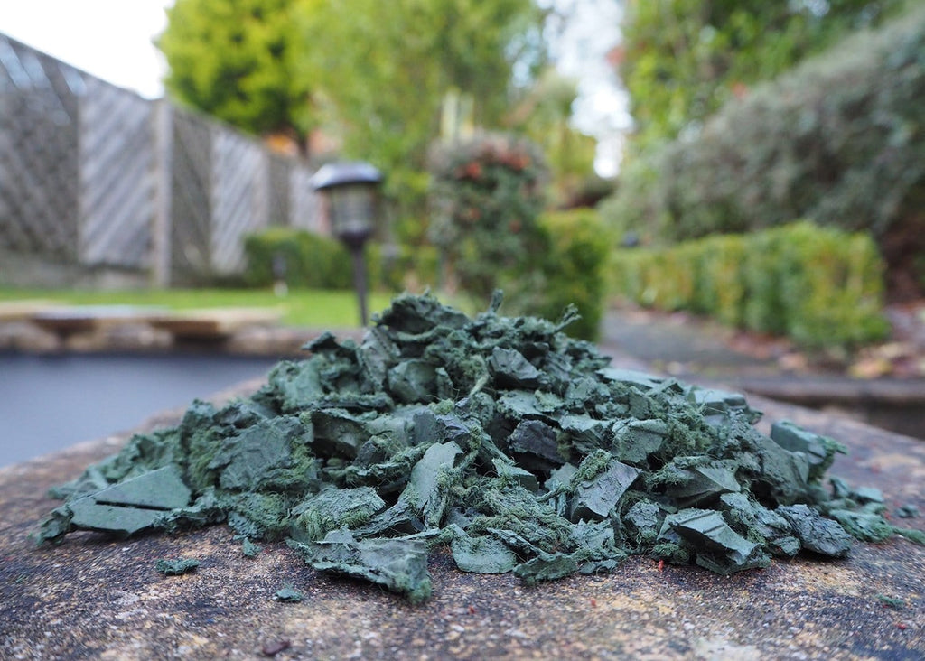 Landscape Economy Rubber Chippings Green - Safer Surfacing