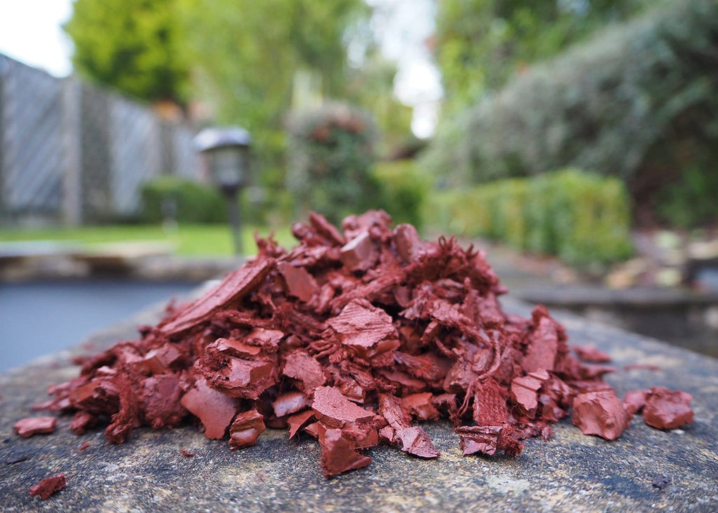 Play Economy Rubber Chippings Terracotta - Safer Surfacing