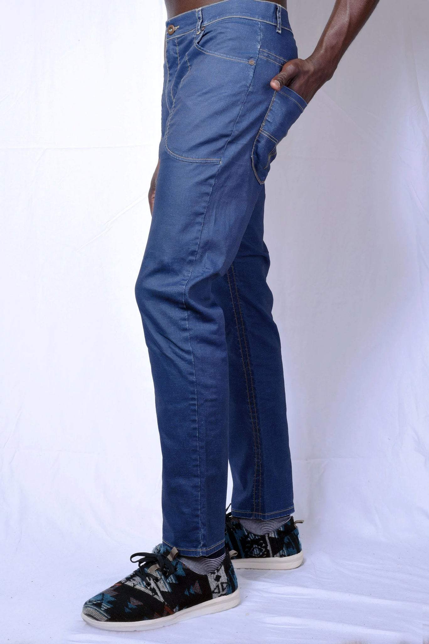 Jacques Isaac 'Indigo Go' Jeans