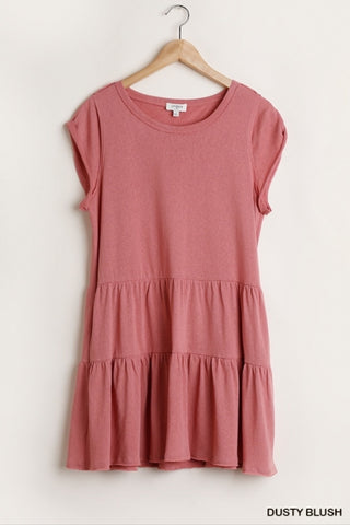 'Southern Dream' Dusty Rose Dress