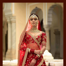 Load image into Gallery viewer, Sabyasachi Devi Collection Chamakali Lehenga