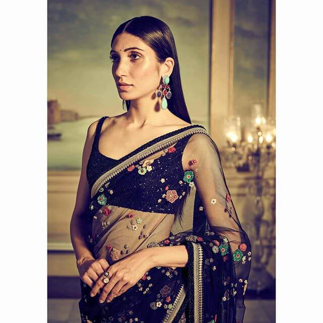 Sabyasachi Navratan Saree - The Grand Trunk