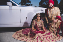 Load image into Gallery viewer, Real Bride Sanjeet in Sabyasachi @ The Grand Trunk - The Grand Trunk