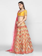Load image into Gallery viewer, Abhinav Mishra  Multicolor Lehenga Set - The Grand Trunk