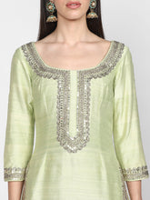 Load image into Gallery viewer, Abhinav Mishra   Mint Green Sharara Set - The Grand Trunk