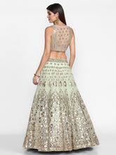 Load image into Gallery viewer, Abhinav Mishra Ivory  Lehenga Set - The Grand Trunk