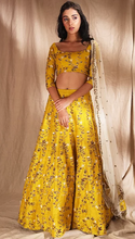 Load image into Gallery viewer, Astha Narang Yellow Lehenga - The Grand Trunk