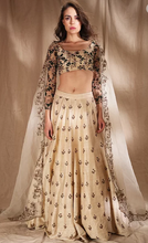 Load image into Gallery viewer, Astha Narang White Raw Silk Motif Lehenga - The Grand Trunk