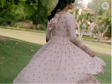 Load image into Gallery viewer, Astha Narang Baby Pink Anarkali - The Grand Trunk
