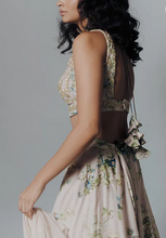 Load image into Gallery viewer, Astha Narang Pink Floral Lehenga Set - The Grand Trunk