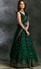 Load image into Gallery viewer, Astha Narang Green Emerald Lehenga - The Grand Trunk