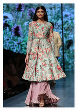 Load image into Gallery viewer, Floral Printed Kurta lehenga set - The Grand Trunk