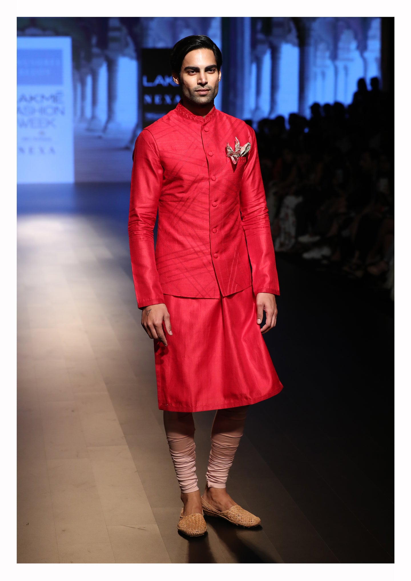 Nehru Jacket with Kurta and Churidar - The Grand Trunk